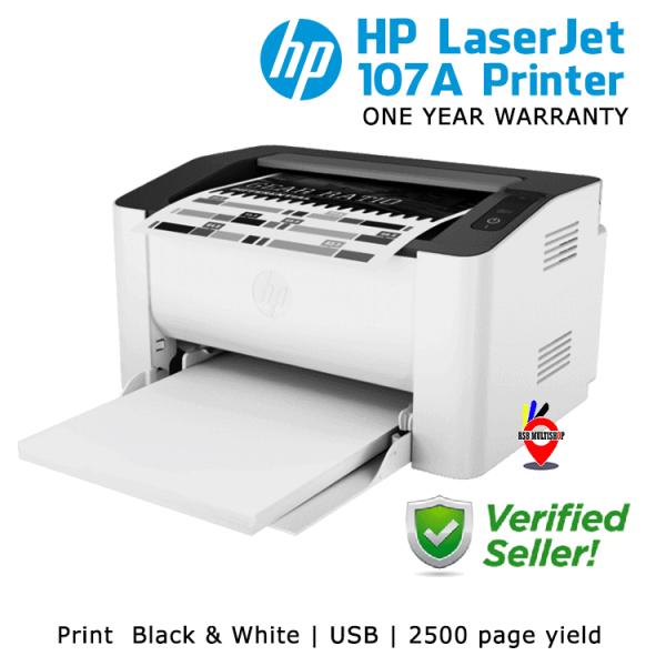 HP 107a Black & white printer