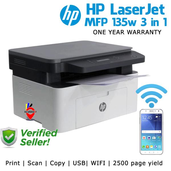 HP Laser MFP 135w 3 in 1