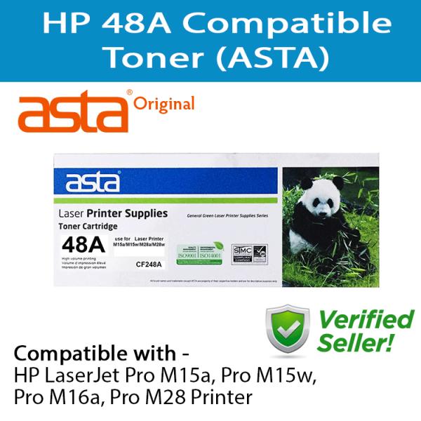 HP 48A Black LaserJet Compatible Toner (ASTA) - RSB Multishop