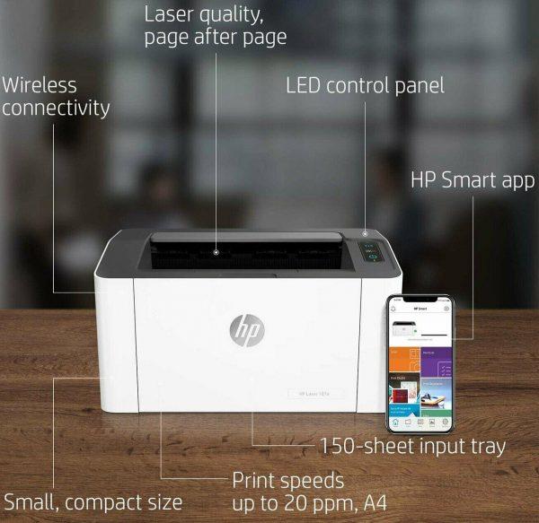 HP Laser printer 107w wifi